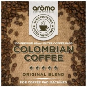 Aromo - COLOMBIAN - 62mm Senseo Compatible Coffee Pods